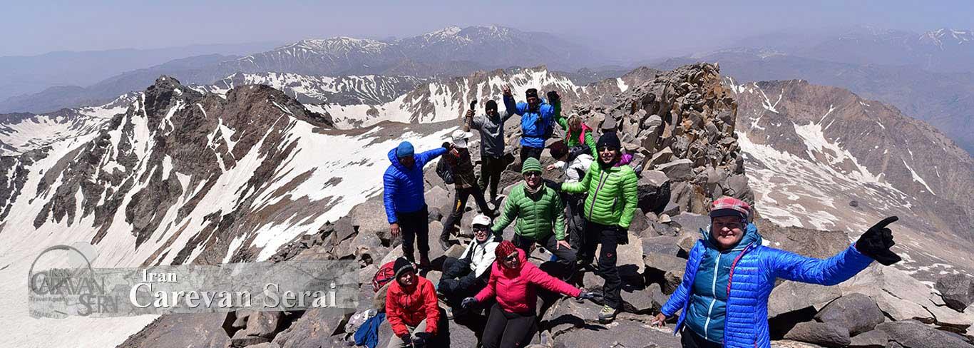 Alamkouh summit 4850m.