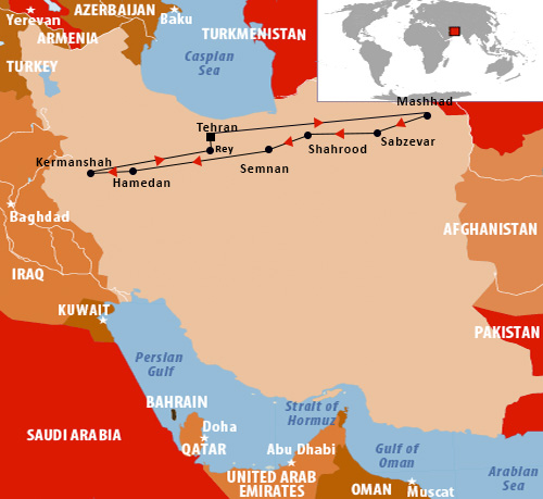 Silk Road Itinerary